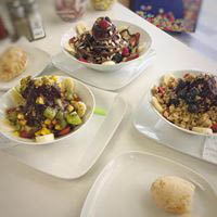 Healthy bowl snacks