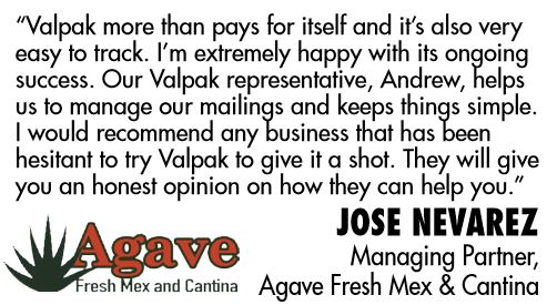 Testimonial about direct mail ads near Deland, FL