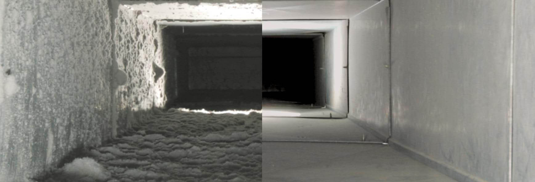 dirty clean air duct