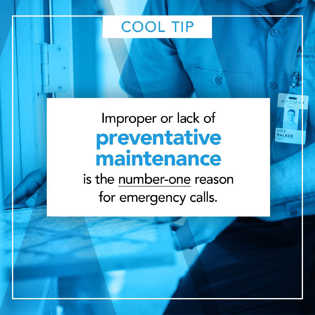 Aireserv Pro tip for your air conditioning unit