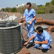 air duct cleaning outdoors