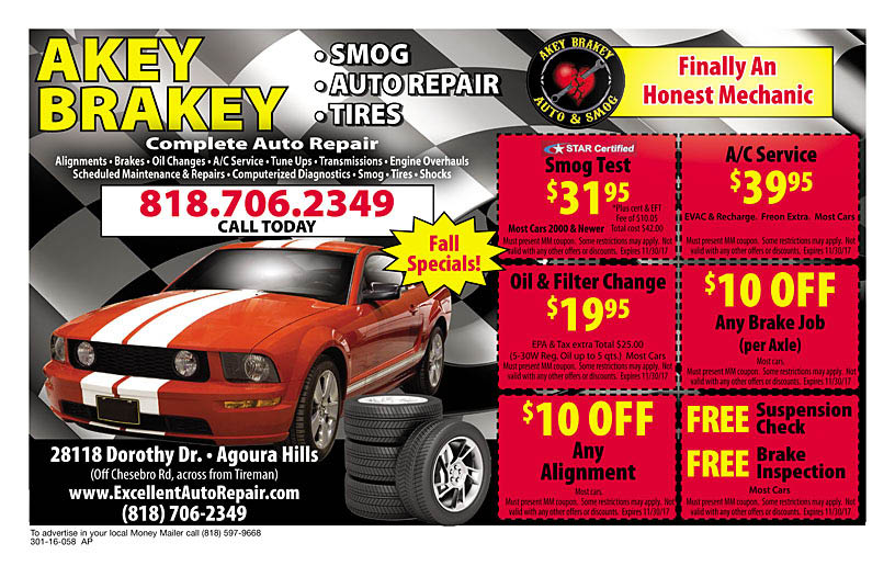 Smog, Alignment, Auto Repair, Tires, Tune Up,Air Conditioning, Factory Services