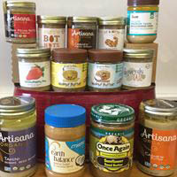 nut butters; honey; power foods