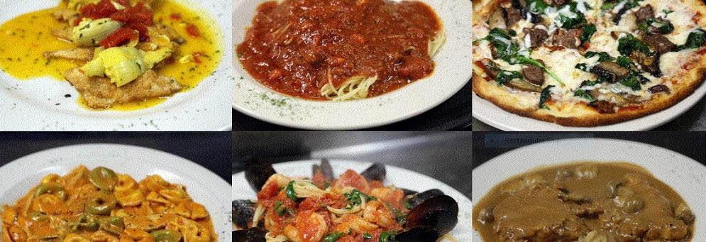 Variety of delicious Italian and American dishes at Alfoccino In Farmington Hills, MI