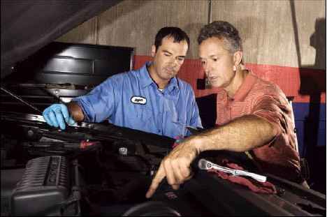 Our auto technicians can repair your car to pass your test