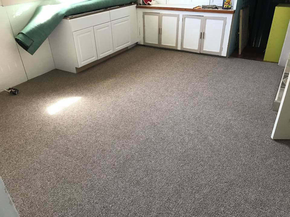Carpet installation by All Floor You contractors