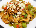 A popular local favorite meal - stir fry with cashew nuts