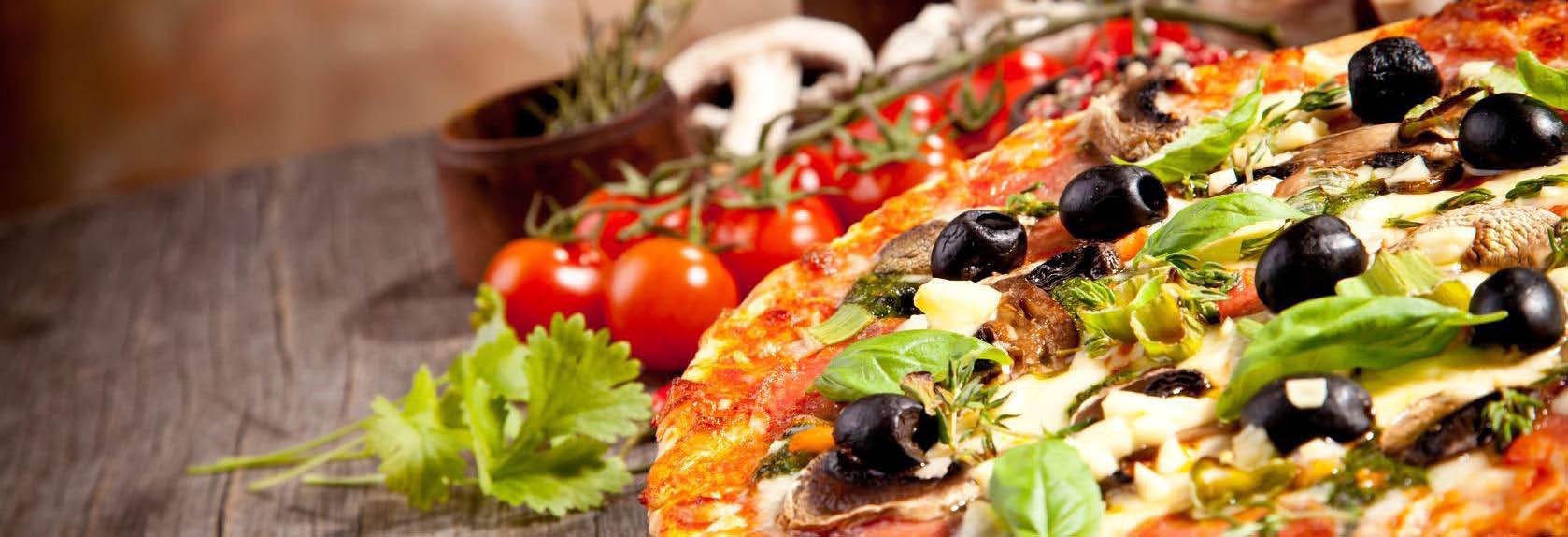 Al Pacino Cafe pizza banner