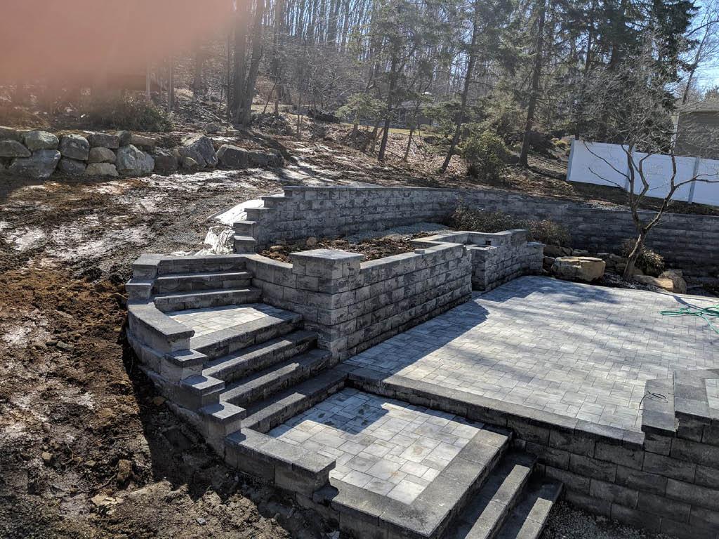 Backyard Excavation by Alpha Land & Tree in Flanders, NJ