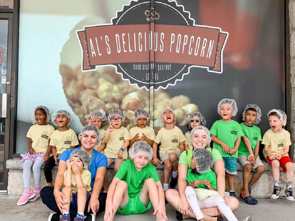 Al's Delicious Popcorn kids