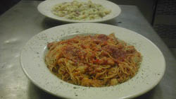 Al's offers delicious homemade fresh pasta dishes