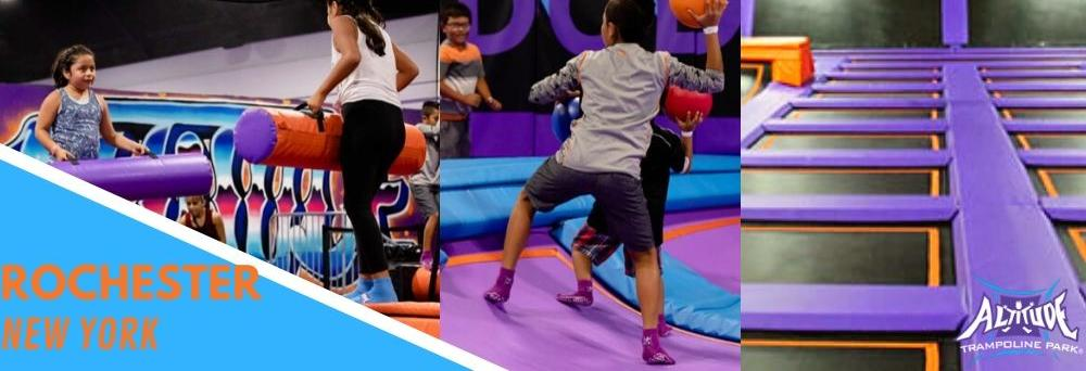 Altitude Trampoline Park Rochester ny fitness exercise kids activities