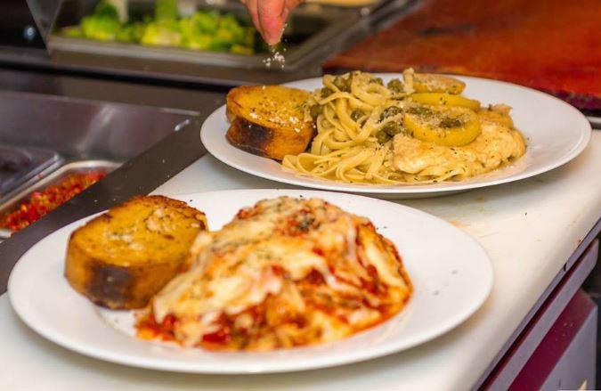 alverdi's italian restaurant & pizzeria in walkersville and frederick, md pasta entrees