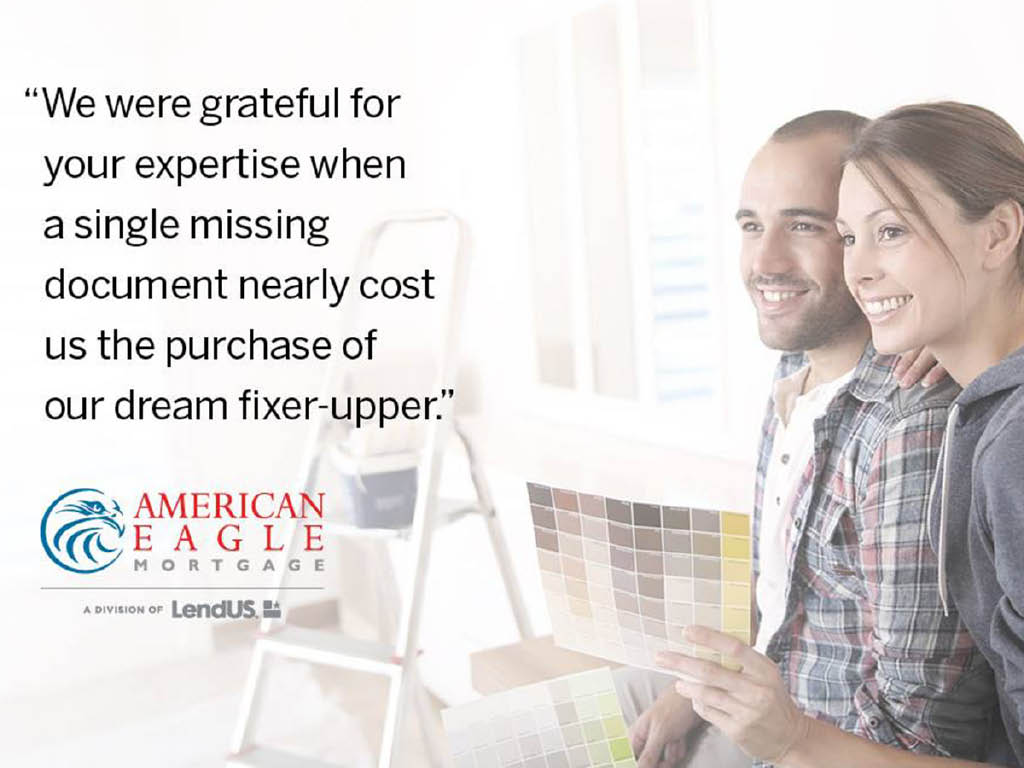American Eagle Mortgage help