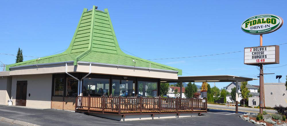Family friendly restaurant in Anacortes, WA, Fidalgo Drive-In.