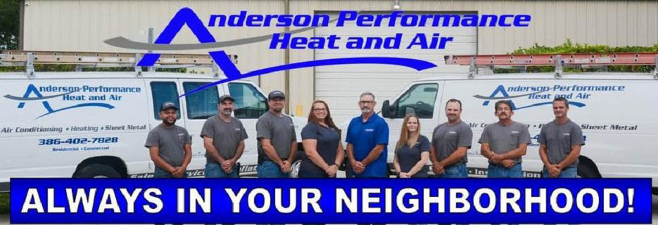 Staff Photo Anderson Performance Heat and Air banner