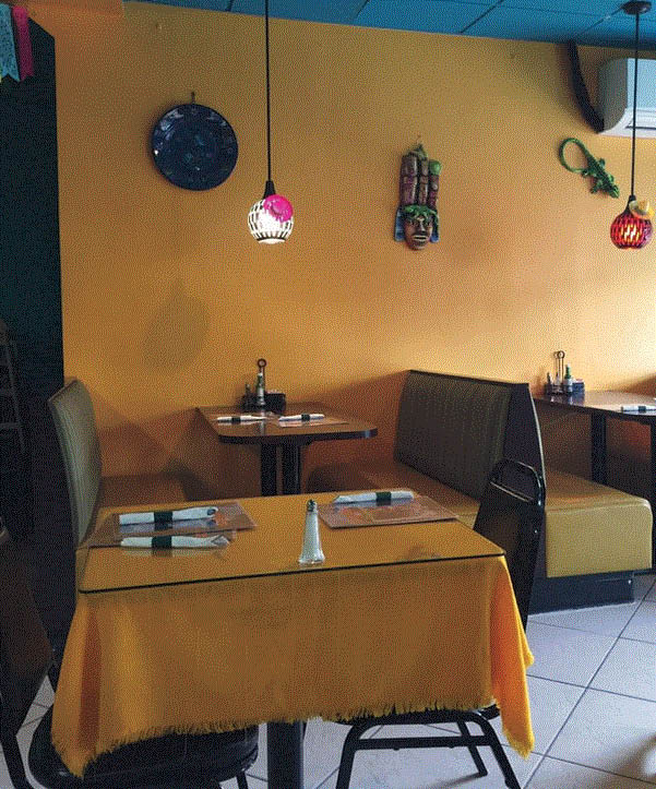 Picture of inside of Angelina's Mexican Restaurant in Wyandotte