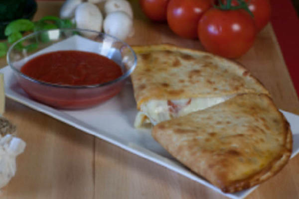 Ange's Pizza calzones made your way.