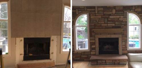 fireplace, bricks, brickwork, design