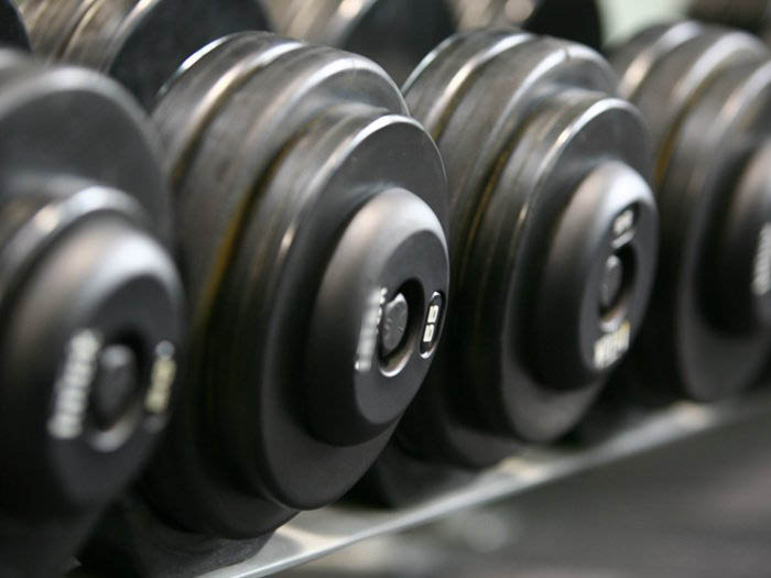 Anytime Fitness free weight selection