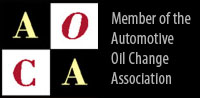 Member of the Automotive Oil Change Association