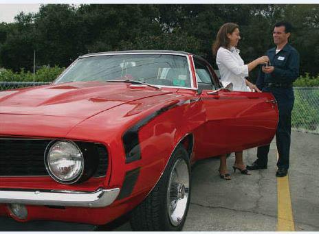 Taking care of a contemporary classic car near Littlerock