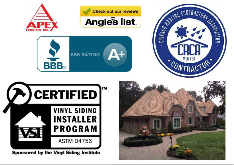 We work with all types of roofing systems/material: Shingle  Cedar Shake  Metal  Flat Roofing