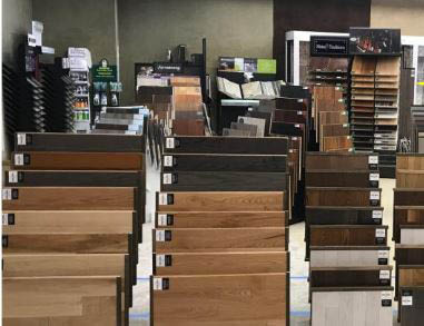 we also have a great selection of prefinished hardwood floors in both engineered and solid wood
