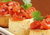 appetizer, crustini, italian, pizza; stephens city, va