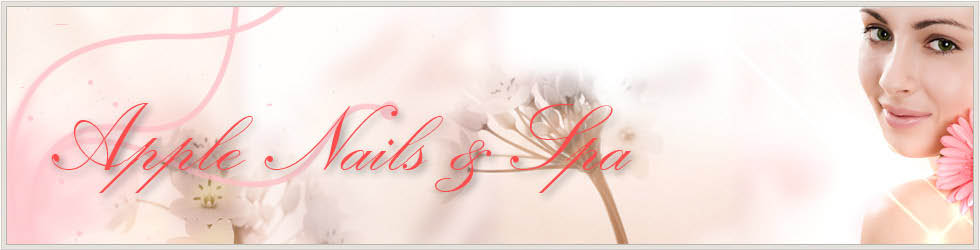Save on your next nail or wax service at Apple Nails and Spa