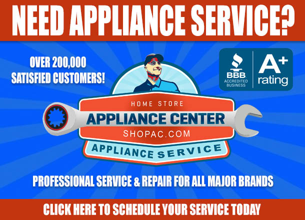 appliance center service and repair toledo area