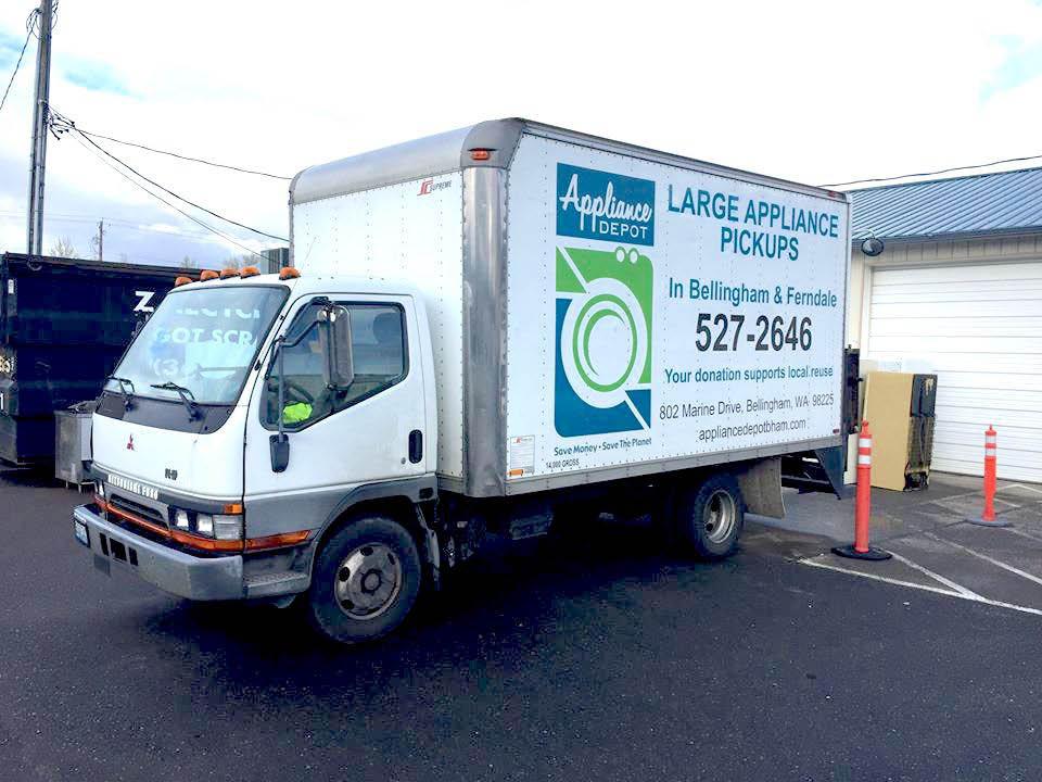 refurbished, used, appliance, truck, work, guaranteed