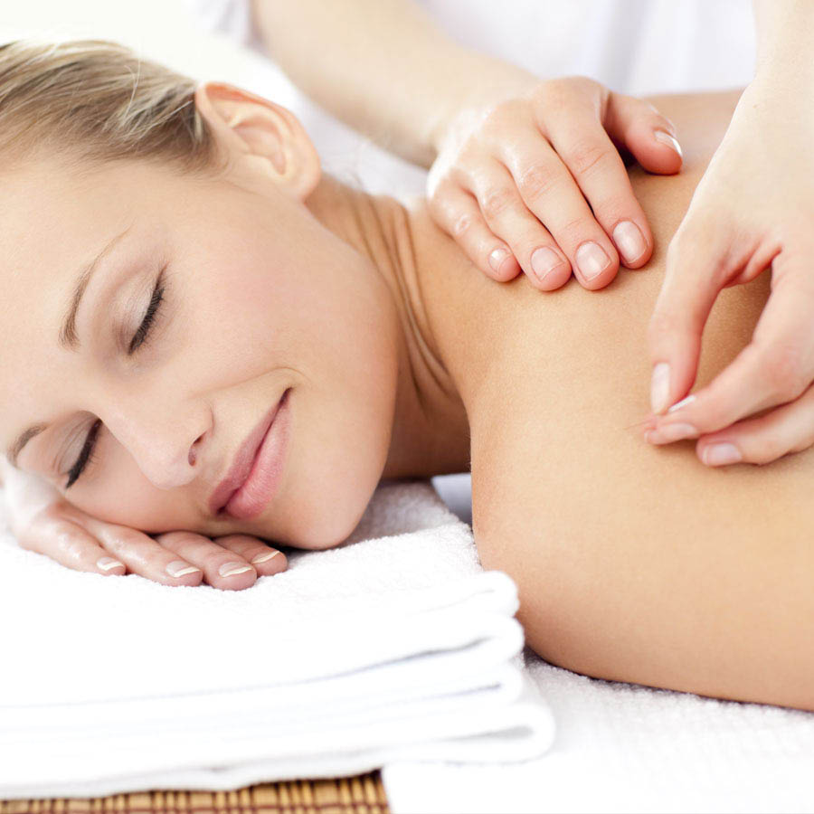 Woman receiving Acupuncture in a gentle, soothing way