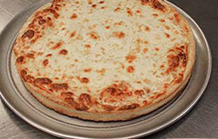 Armand's Chicago-style thin crust cheese pizza in La Grange, IL