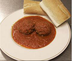 Try Armand's traditional Italian Spaghetti and Meatballs