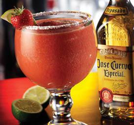 Margaritas made with Jose Cuervo