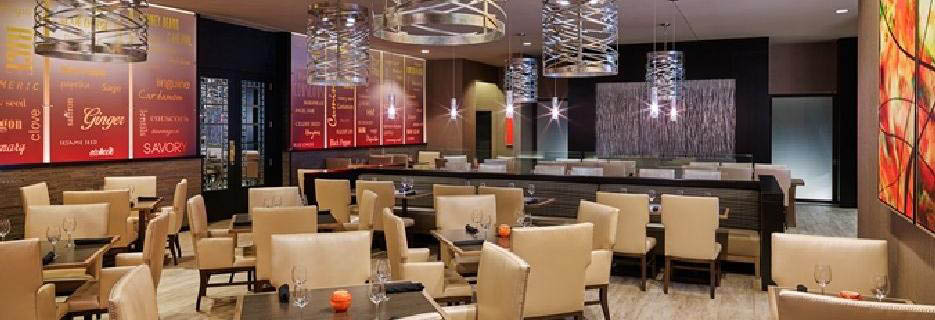 Asado Urban Grill Located At The KCI Hilton's Dining Room Banner Image