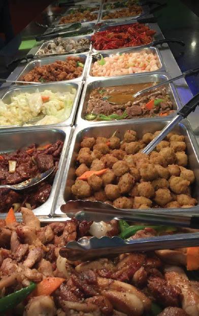buffet at Asian Buffet in Arlington, TX