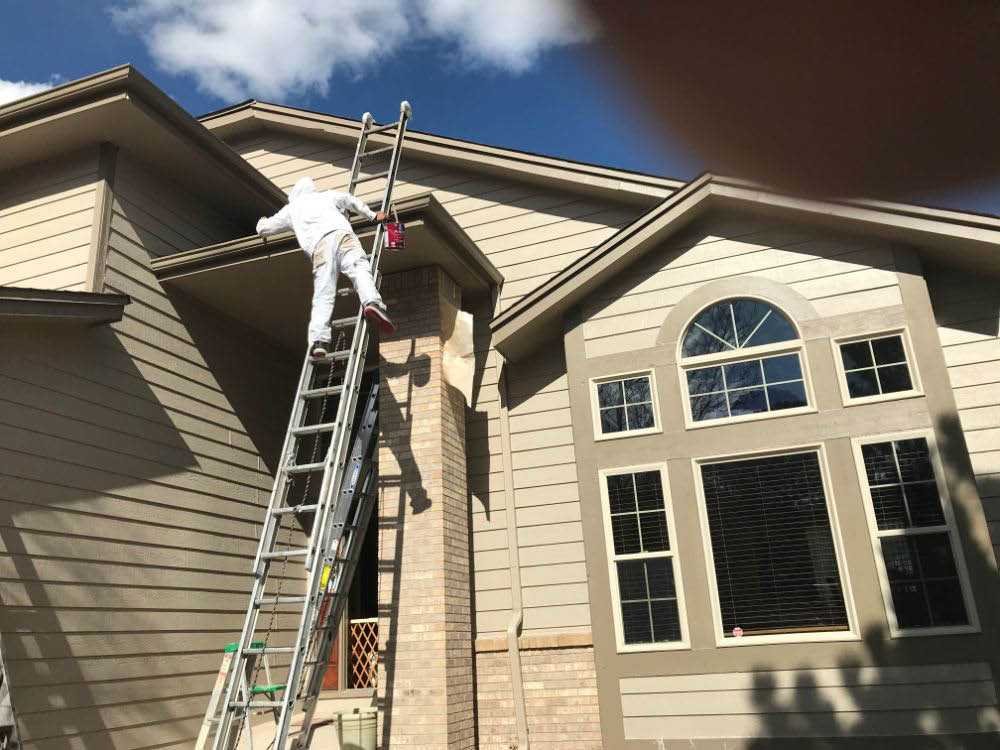 Exterior home painting services in Falcon