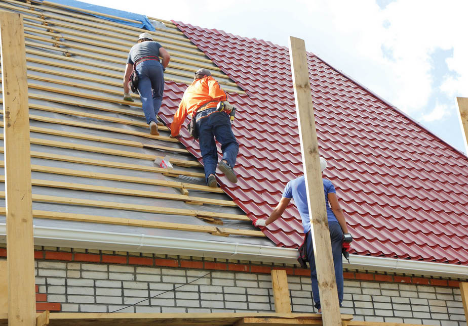 roof installation by ATA Remodeling