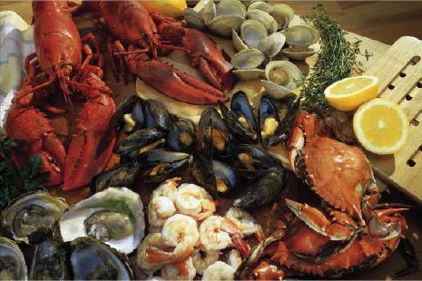 Fresh Seafood market in Waxahachie TX.