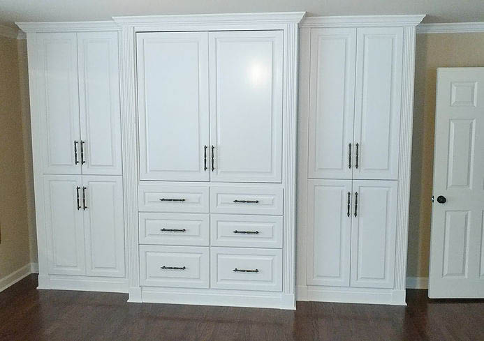 Atlanta Bookshelves for built-in cabinetry, wall units and custom kitchens, small or larger projects