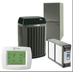 HVAC equipment displayed; HVAC Services in Orange County, CA