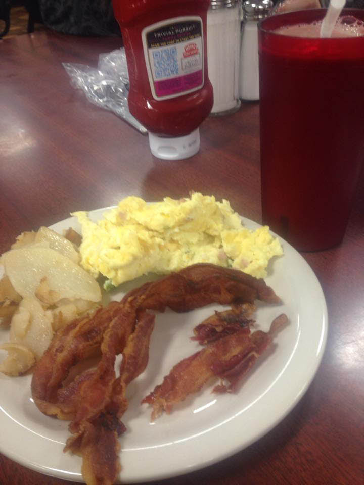 scrambled eggs; bacon; breakfast coupons; buffets in Clearfield, PA