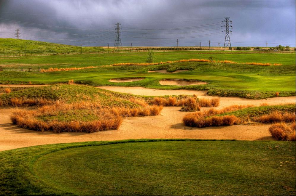 Saddle Rock Golf Course sand traps