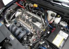 Engine repairs for vehicles.