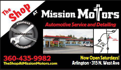 The Shop at Mission Motors Auto Service & Oil Changes location in Arlington