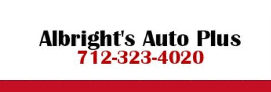 Albright's Auto Plus in Council Bluffs, IA Banner ad
