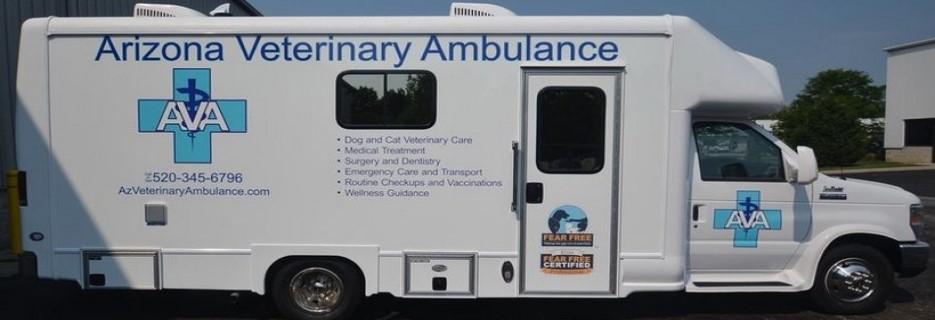 Arizona Veterinary Ambulance - Tucson AZ banner