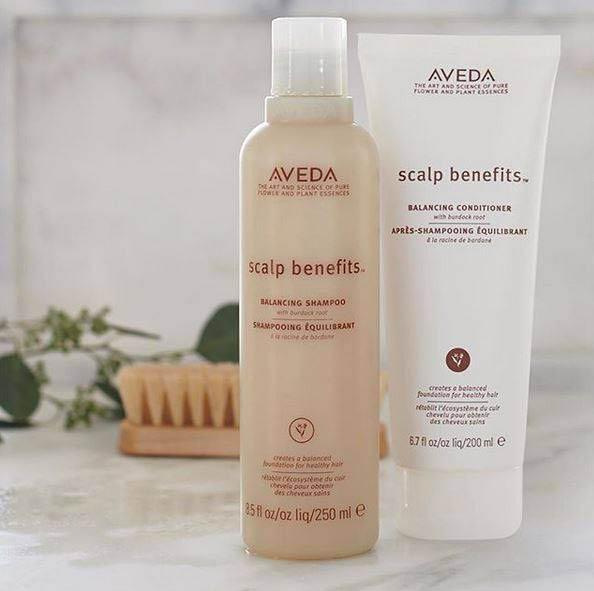 Scalp benefits - balancing shampoo & conditioner - Aveda